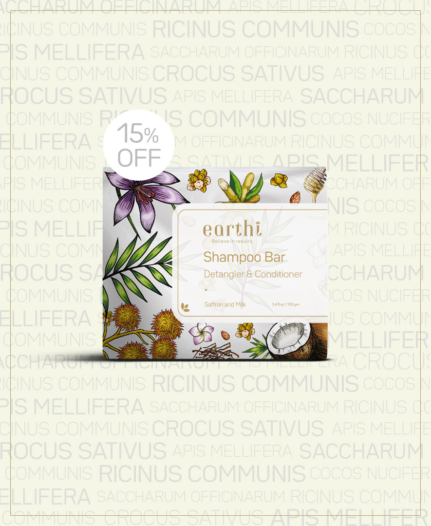 Saffron and Milk Shampoo Bar